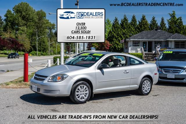 2010 Chevrolet Cobalt LS 5-Speed Manual, Low km's, Local, No Accidents!