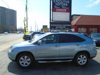 Used 2007 Lexus RX 350 LUXURY/ REVERSE CAM / NAV / ALLOYS /LEATHER / ROOF for sale in Scarborough, ON