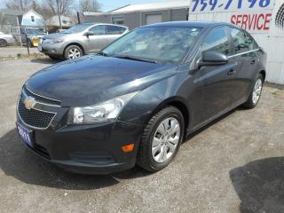Used 2011 Chevrolet Cruze LT Turbo *Clean Carproof* Certified w/ Warranty for sale in Brantford, ON