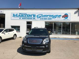 Used 2012 GMC Acadia Denali for sale in St. Jacobs, ON