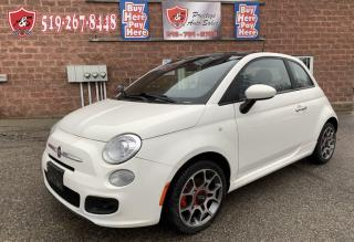 Used 2013 Fiat 500 Sport/ONE OWNER/NO ACCIDENT/SAFETY INCLUDED for sale in Cambridge, ON
