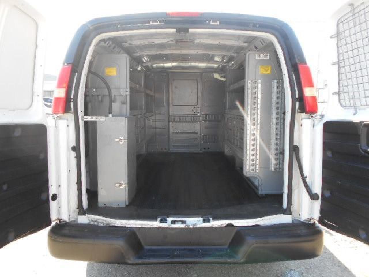2012 Chevrolet Express 2500 2500HD Cargo 4.8L Rack Divider Shelving Certified