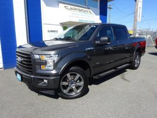 Used 2017 Ford F-150 Sport 4x4, Crew, 2.7L EcoBoost, Nav, 302A Package for sale in Langley, BC