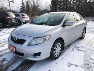 Used 2010 Toyota Corolla CE for sale in Stouffville, ON