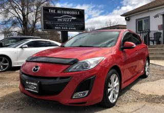 Used 2010 Mazda MAZDA3 GT SPORT MANUAL HATCHBACK SUNROOF NO ACCIDENT for sale in Mississauga, ON