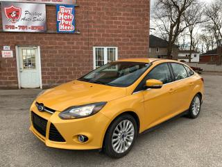 Used 2012 Ford Focus Titanium/ONE OWNER/2L/NAVIGATION/SAFETY INCLUDED for sale in Cambridge, ON