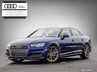 Used 2018 Audi A4 Technik for sale in Halifax, NS