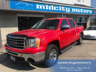 Used 2012 GMC Sierra 1500 SL 4X4/ Tonneau Cover/ Step Rails/ Bluetooth for sale in Niagara Falls, ON