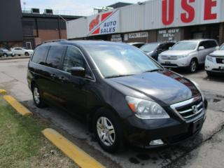 Used 2007 Honda Odyssey Touring~NAV.~DVD~LEATHER~ALL POWER OPTIONS~ for sale in Toronto, ON