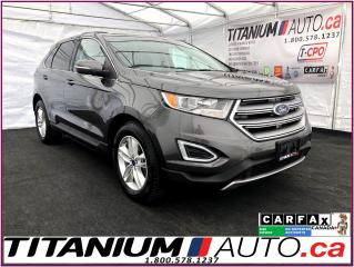 Used 2016 Ford Edge SEL-Camera-GPS-Pano Roof-Leather Heated Power Seat for sale in London, ON