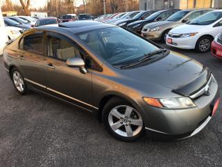 Used 2007 Honda Civic EX/ 5 SPEED/ SUNROOF/ ALLOYS/ LOADED! for sale in Scarborough, ON