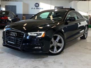 Used 2013 Audi A5 S-LINE|NAV|ACCIDENT FREE|BLIND SPOT|BACK UP| for sale in Oakville, ON
