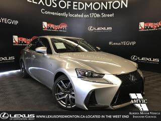 New 2019 Lexus IS 350 F Sport Series 2 for sale in Edmonton, AB
