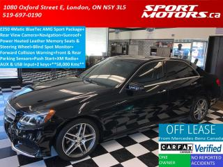 Used 2015 Mercedes-Benz E-Class E250 AMG Sport PKG+Camera+GPS+Sunroof+Blind Spot for sale in London, ON