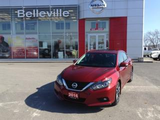 Used 2016 Nissan Altima 2.5 SL Tech 1 OWNER LOCAL TRADE for sale in Belleville, ON