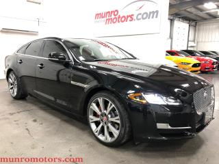 Used 2017 Jaguar XJ XJ Portfolio AWD NAV Quilted seats for sale in St. George Brant, ON