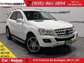 Used 2011 Mercedes-Benz ML-Class ML350 BlueTEC 4MATIC| AS-TRADED| NAVI| SUNROOF| for sale in Burlington, ON