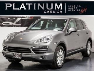 Used 2014 Porsche Cayenne NAVI, PANO, CAM, BLINDSPOT, Heated Cooled Seats for sale in Toronto, ON