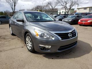 Used 2015 Nissan Altima 2.5 S-PUSH Button START-LOW Monthly PAYMENTS!! for sale in Edmonton, AB