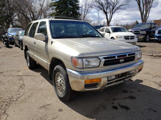 Used 1998 Nissan Pathfinder LE-4x4-LOW KM-LEATHER-GOOD Running CONDITION!! for sale in Edmonton, AB
