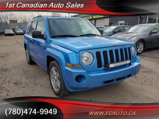 Used 2008 Jeep Patriot NORTH-4X4-SUNROOF-NO ACCIDENTS-LOW PAYMENTS!! for sale in Edmonton, AB