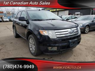 Used 2009 Ford Edge LIMITED-AWD-LEATHER-SUNROOF-LOW Monthly PAYMENTS!! for sale in Edmonton, AB