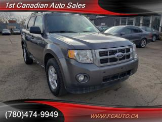 Used 2012 Ford Escape XLT-AWD-ACCIDENT FREE-LOW Monthly PAYMENTS!! for sale in Edmonton, AB