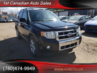 Used 2010 Ford Escape Limited-AWD-LEATHER-SUNROOF-LOW Monthly PAYMENTS!! for sale in Edmonton, AB