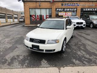 Used 2005 Audi A4 1.8T Avant (A5)//LEATHER/SUNROOF/LOW KM for sale in North York, ON