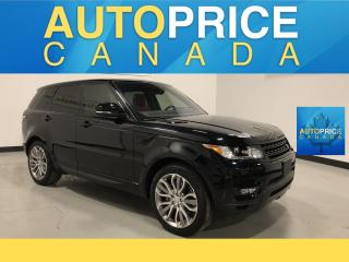 Used 2017 Land Rover Range Rover Sport V8 Supercharged DYNAMIC|NAVIGATION|REAR CAM|LEATHER for sale in Mississauga, ON