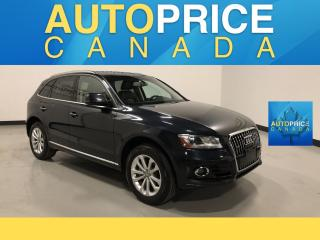 Used 2016 Audi Q5 2.0T Progressiv NAVIGATION|REAR CAM|LEATHER for sale in Mississauga, ON