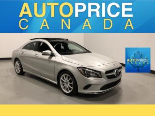 Used 2018 Mercedes-Benz CLA-Class 250 NAVIGATION|PANOROOF|LEATHER for sale in Mississauga, ON
