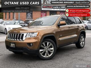 Used 2011 Jeep Grand Cherokee Laredo NAVI! B.UP CAMERA! LOW KMs! for sale in Scarborough, ON
