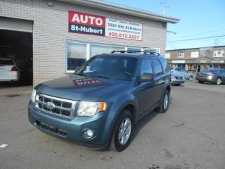 Used 2010 Ford Escape XLT for sale in St-Hubert, QC