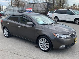 Used 2011 Kia Forte 4DR SDN AUTO SX for sale in Oakville, ON