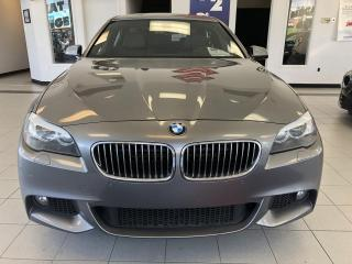 Used 2013 BMW 5 Series xDrive 535i / AWD /m pakage/ CUIR / for sale in Sherbrooke, QC