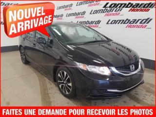 Used 2013 Honda Civic EX+***PETIT PAIEMENT AU 2 SEMAINES*** for sale in Montréal, QC