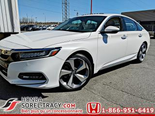 Used 2018 Honda Accord Touring CVT for sale in Sorel-Tracy, QC