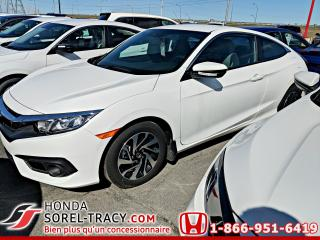 Used 2018 Honda Civic LX CVT avec Honda Sensing for sale in Sorel-Tracy, QC