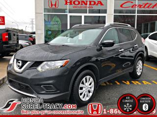 Used 2016 Nissan Rogue Traction intégrale, 4 portes S for sale in Sorel-Tracy, QC