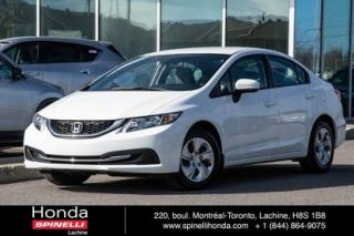 Used 2014 Honda Civic LX for sale in Lachine, QC