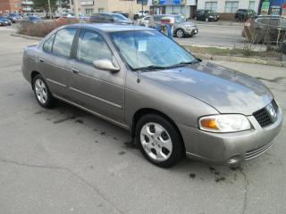 Used 2004 Nissan Sentra 1.8S, 104 KM only| two sets of keys. for sale in Toronto, ON