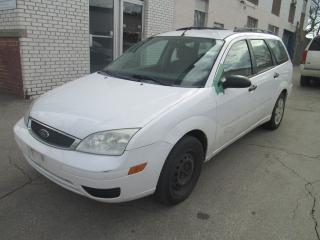 Used 2007 Ford Focus Wagon 4 cylinders| Pw locks| As is sale. for sale in Toronto, ON