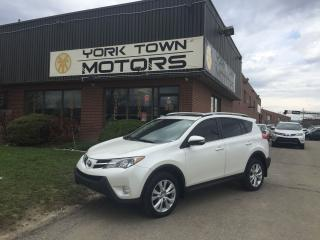 Used 2015 Toyota RAV4 Limited/AWD/Nav/BackCam/HeatedSeats/Leather for sale in North York, ON