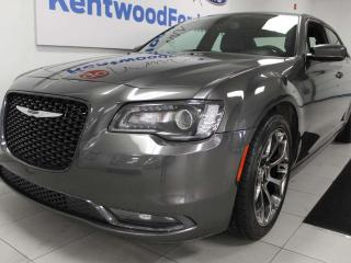 Used 2018 Chrysler 300 S RWD, NAV, sunroof, heated power leather seats, back up cam for sale in Edmonton, AB