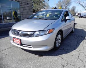 Used 2012 Honda Civic LX for sale in Windsor, ON
