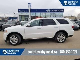 Used 2012 Dodge Durango CREW AWD/LEATHER/BACK UP CAM/SUNROOF for sale in Edmonton, AB