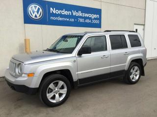 Used 2012 Jeep Patriot 4WD AUTO for sale in Edmonton, AB