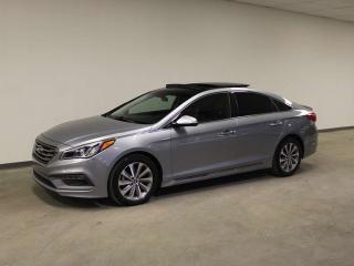 Used 2015 Hyundai Sonata SPORT; PANORAMIC SUNROOF, LEATHER, HEATED SEATS/WHEEL, BLUETOOTH, SMART KEY, BLIND SPOT for sale in Edmonton, AB