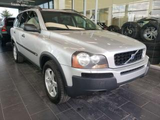 Used 2004 Volvo XC90 ACCIDENT FREE, AWD, HEATED SEATS, SUNROOF, STEERING WHEEL CONTROLS for sale in Edmonton, AB